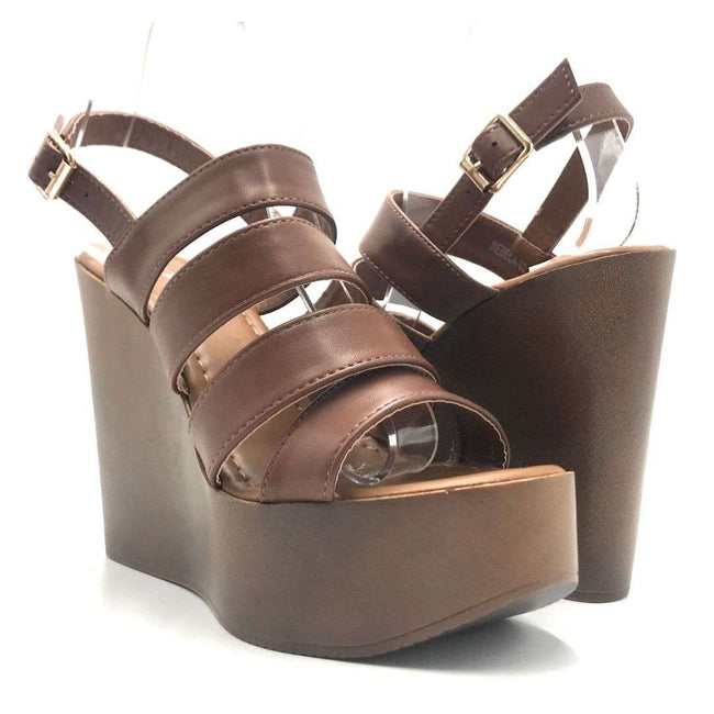 Refresh Rebeca-02 Tan Color Flat-Sandals Shoes for Women