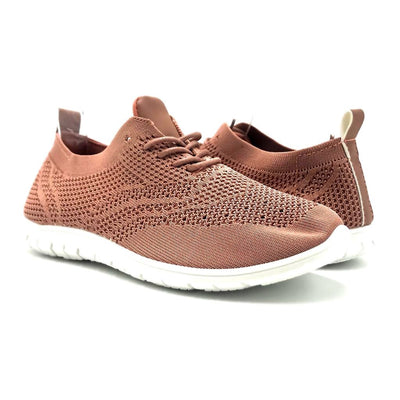 Refresh Walking-01 Mauve Color Fashion Sneaker Shoes for Women
