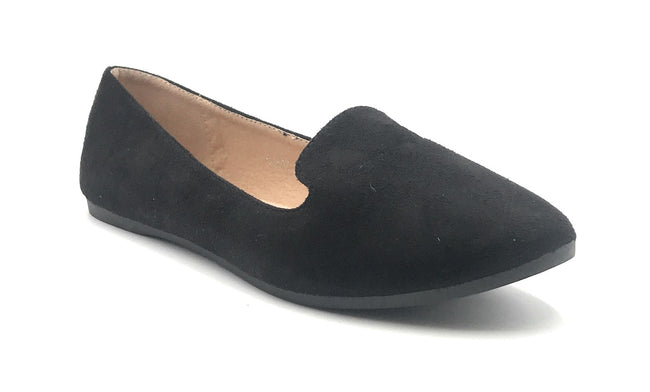 SBUP F07-07 Black Color Ballerina Shoes for Women