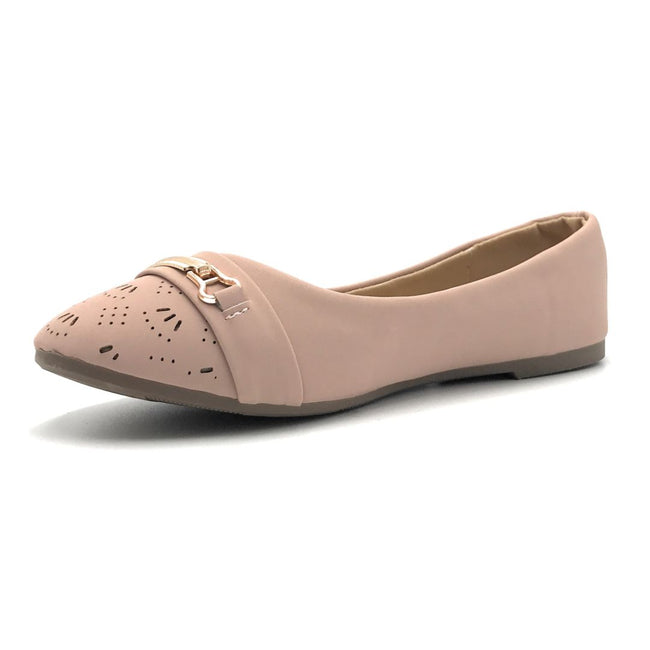 SBUP F07-12 L.Pink Color Ballerina Shoes for Women