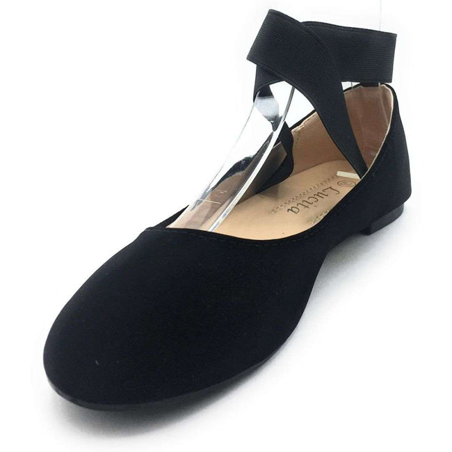 SBUP F15-02 Black NB Color Ballerina Shoes for Women