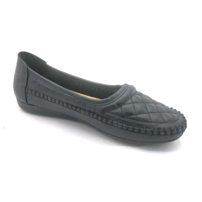 SBUP F8-16 Black Color Ballerina Shoes for Women