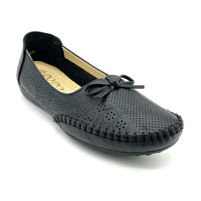 SBUP F8-677 Black Color Ballerina Shoes for Women