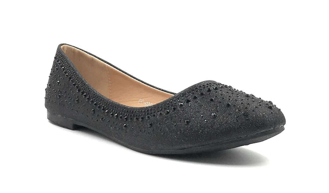 SBUP FC-020 Black Color Ballerina Shoes for Women
