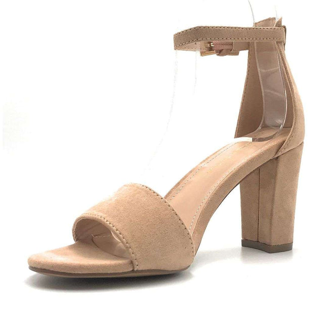 Shoe Republic Arianna Taupe Color Heels Shoes for Women