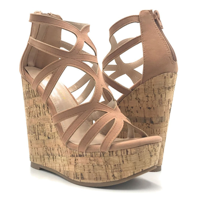Shoe Republic Hawkins Taupe Color Heels Shoes for Women