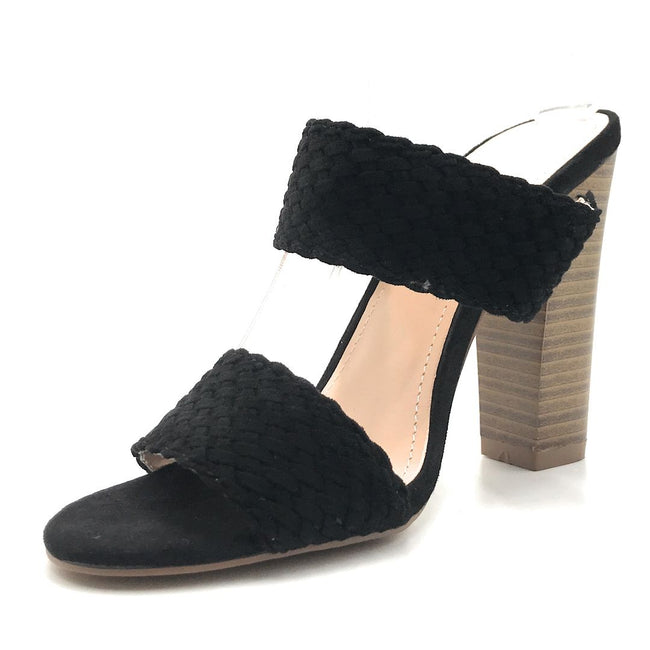 Shoe Republic Sautern Black Color Heels Shoes for Women