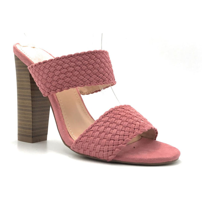 Shoe Republic Sautern Mauve Color Heels Shoes for Women