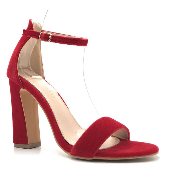 Shoe Republic Shochu Red Color Heels Shoes for Women