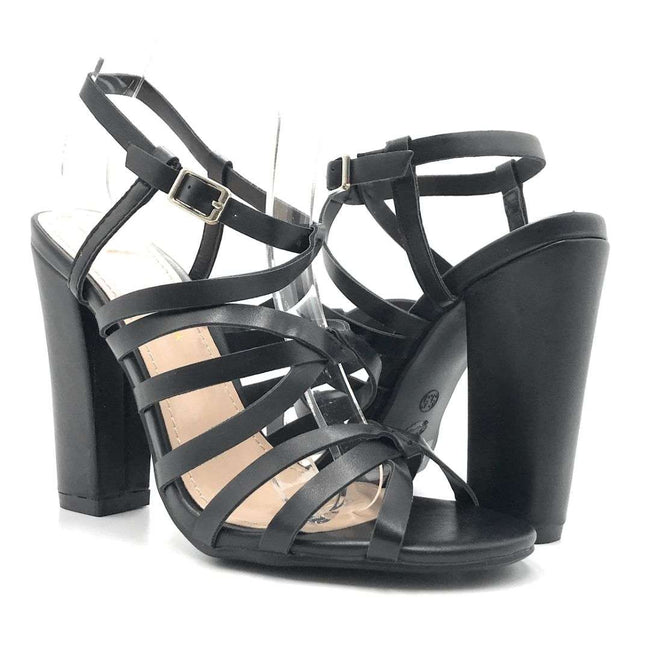Shoe Republic Timsley Black Color Heels Shoes for Women