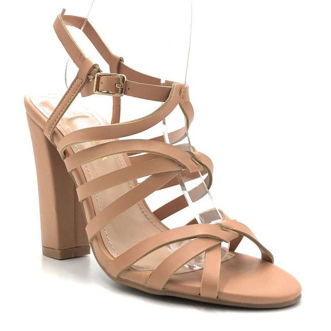 Shoe Republic Timsley Taupe Color Heels Shoes for Women