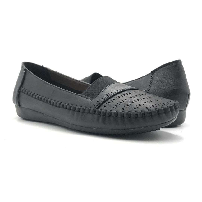 Sup Trading F8-1011 Black Color Ballerina Shoes for Women