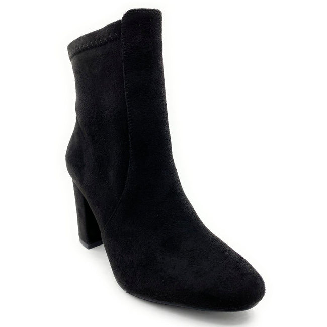 Top Moda Caris-1 Black Color Boots Right Side View, Women Shoes