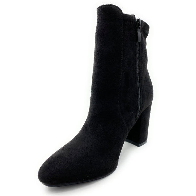 Top Moda Caris-1 Black Color Boots Left Side view, Women Shoes