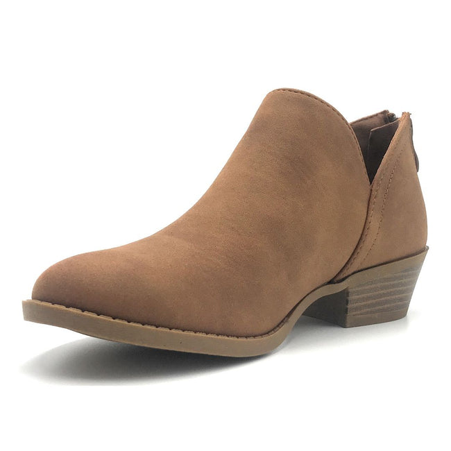 Top Moda Draco-1 Tan Color Boots Shoes for Women