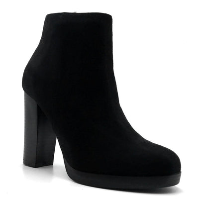 Top Moda Sapri-1 Black Color Boots Left Side view, Women Shoes