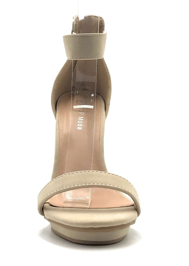 Top Moda Shona-1 Beige Color  Shoes for Women