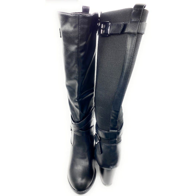 Top Moda Storm-1 Black Color Boots Both Shoes together, Women Shoes