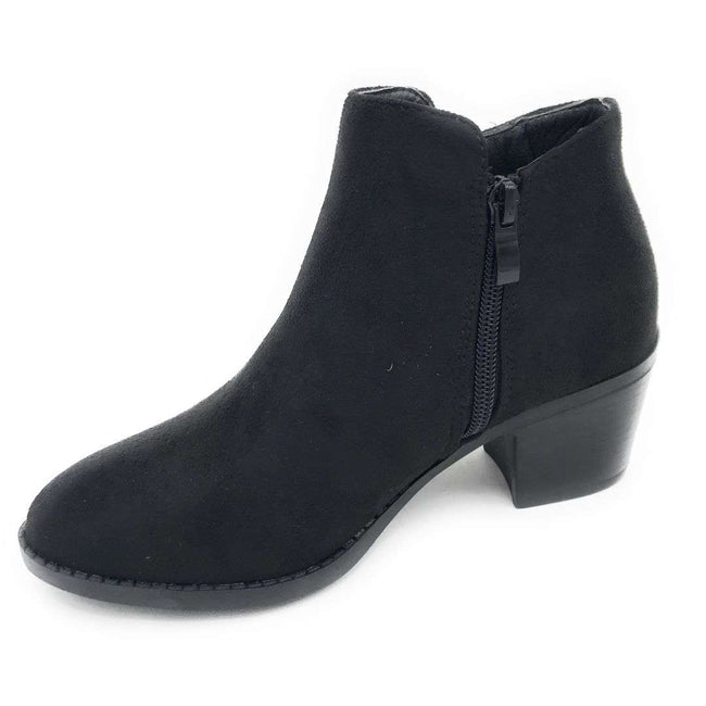 Top Moda Zandra-26 Black Color Boots Shoes for Women