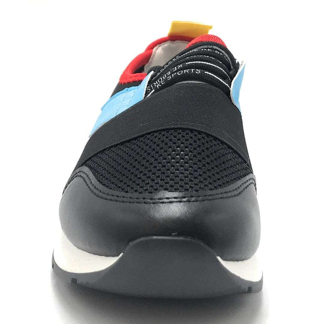 Weeboo Amanda-12 Black Color Fashion Sneaker Shoes for Women