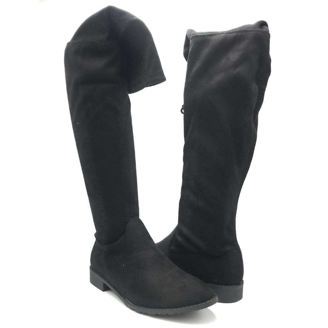 Yoki Anora Black Color Boots Shoes for Women