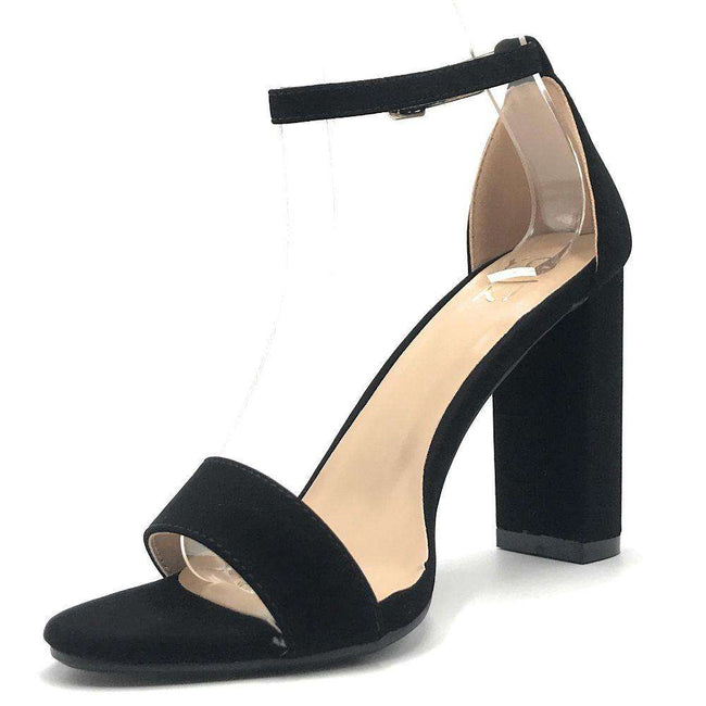 Yoki Carrason-05 Black Color Heels Shoes for Women