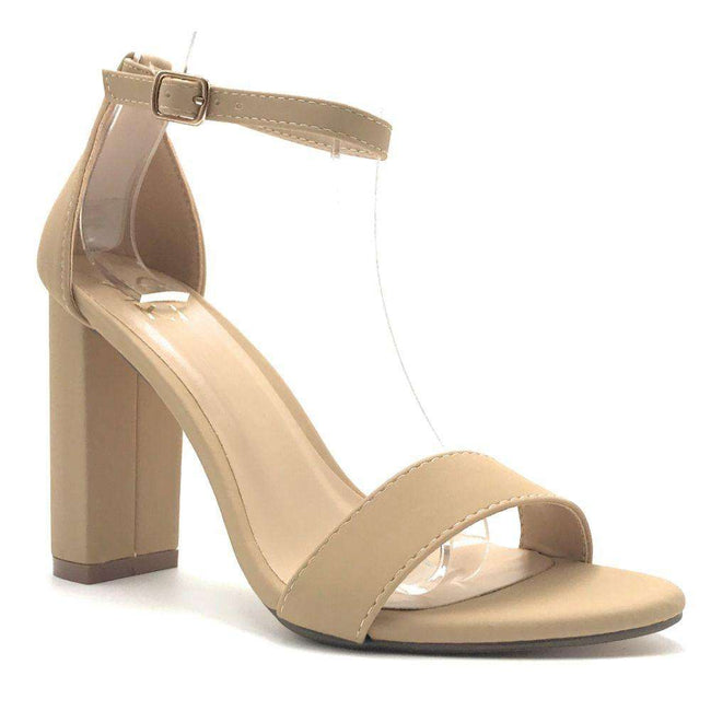 Yoki Carrason-05 Nude Color Heels Shoes for Women