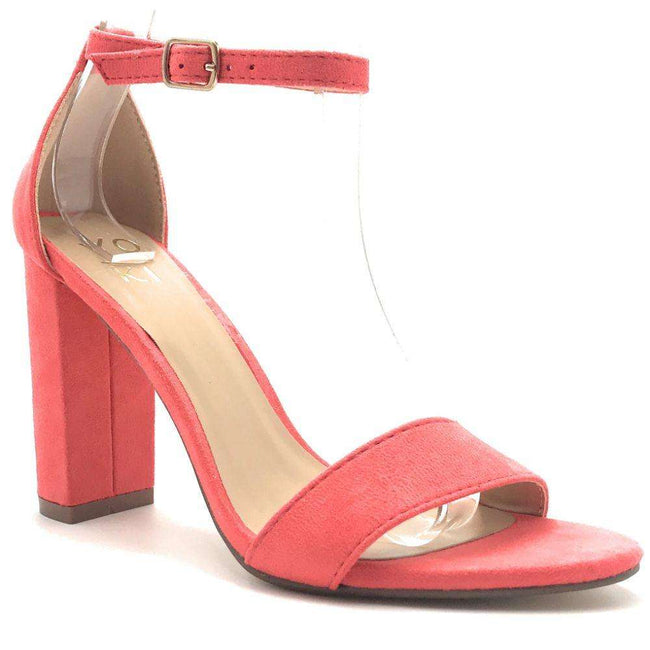 Yoki Carrason-05 Peach Color Heels Shoes for Women