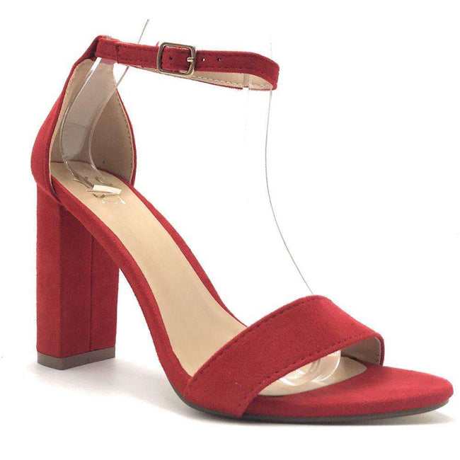 Yoki Carrason-05 Red Color Heels Shoes for Women