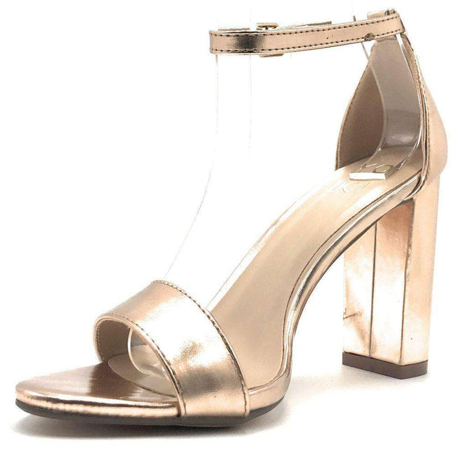 Yoki Carrason-05 Rose Gold Color Heels Shoes for Women