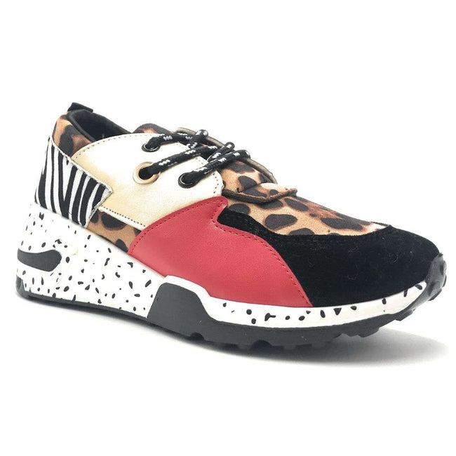 Yoki Clint-16 Black Color Fashion Sneaker Shoes for Women