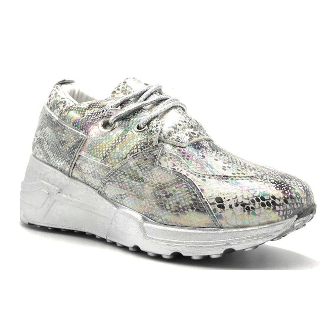 Yoki Clint-16 White Color Fashion Sneaker Shoes for Women