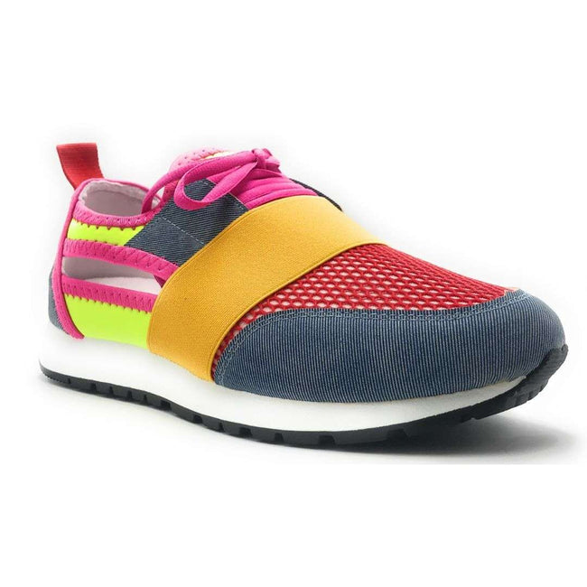 Yoki James-14 Denim Color Fashion Sneaker Shoes for Women