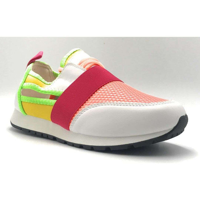 Yoki James-14 White Color Fashion Sneaker Shoes for Women