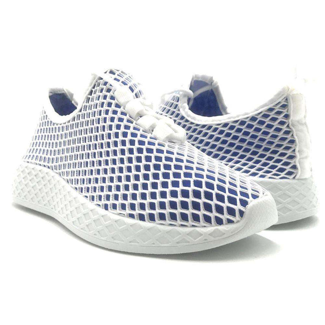 Yoki Lemo Blue Color Fashion Sneaker Shoes for Women