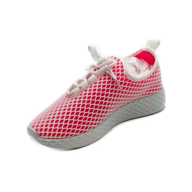 Yoki Lemo Fuchsia Color Fashion Sneaker Shoes for Women
