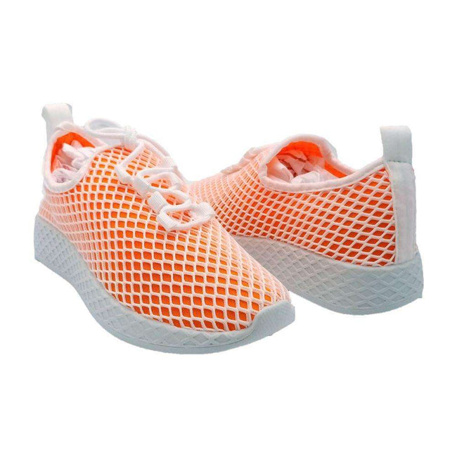 Yoki Lemo Orange Color Fashion Sneaker Shoes for Women