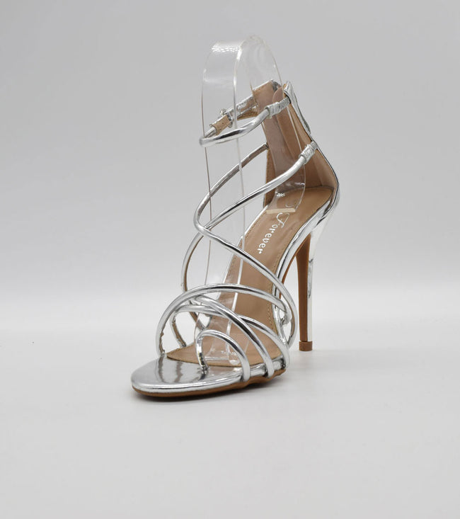 FOREVER LINK PASSION-87 SILVER Women Shoes