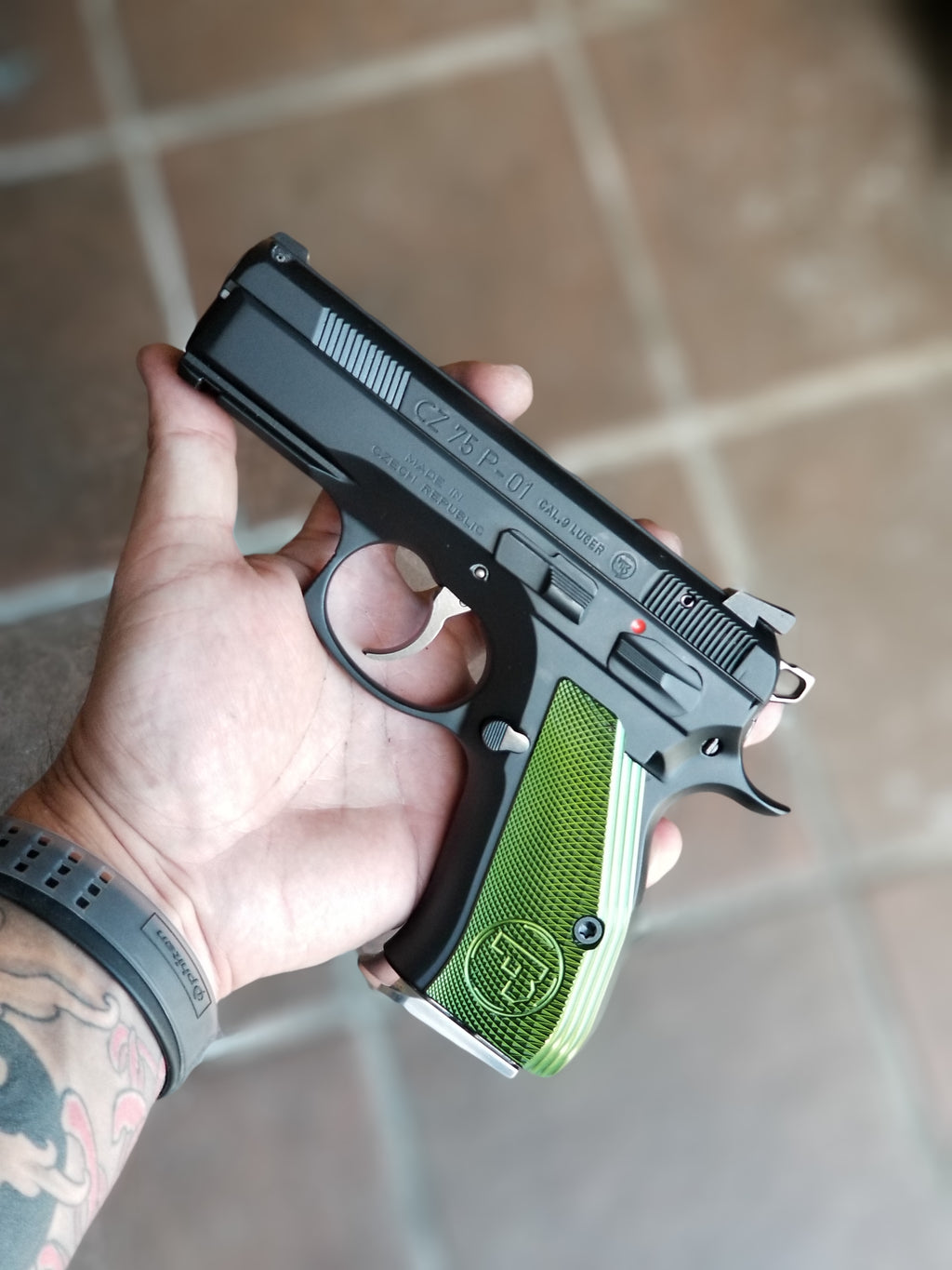 CZ P-01/SP-01 Custom Tune
