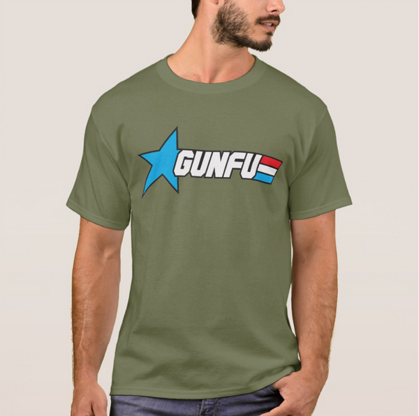 OD GREEN STARS & STRIPES TEE (2X ONLY)