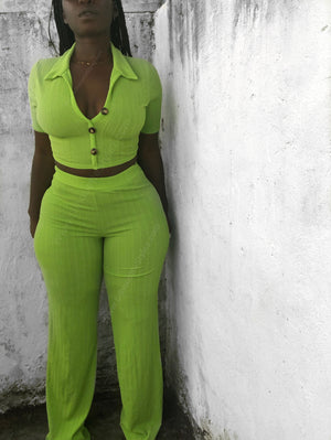 Key Lime Pant Set
