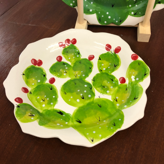 Prickly Pear Plate