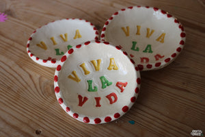 Viva la Vida Clay Ring Dish