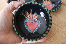 Sacred Heart Clay Ring Dish