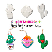 Crafty Chica DIY Blank Ornament Set