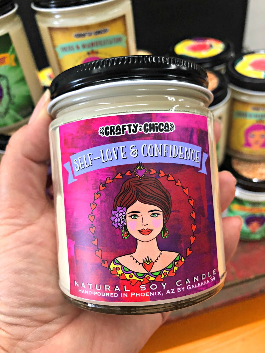 Self Love + Confidence Candle