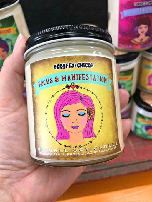 Focus + Manifestation Candle