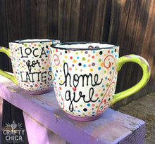 Loca for Lattes Handpainted Mug