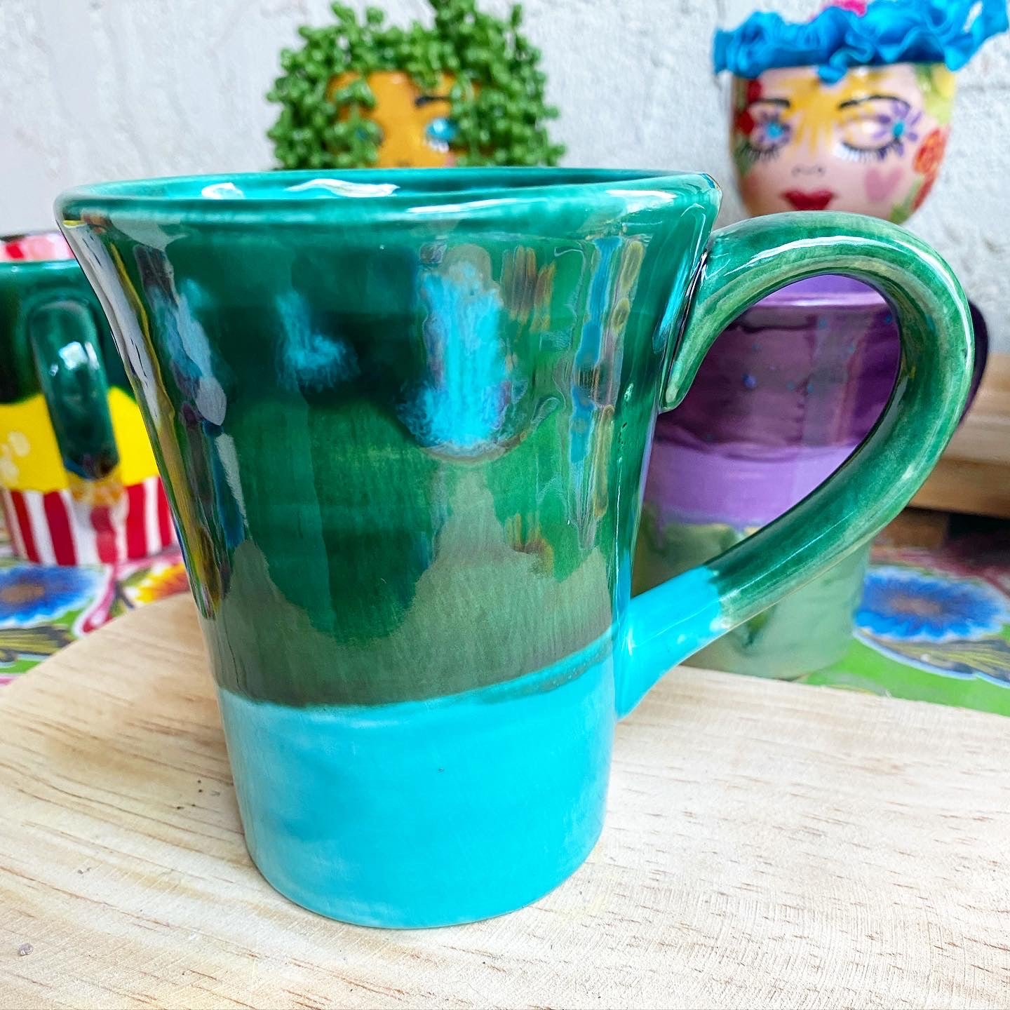 Gourmet Glazed Mug - Mermaid Vibes
