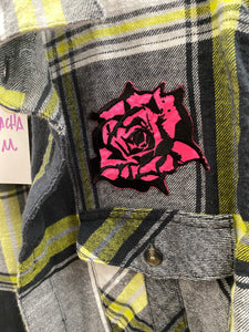 Upcycled Shirt: La Borracha
